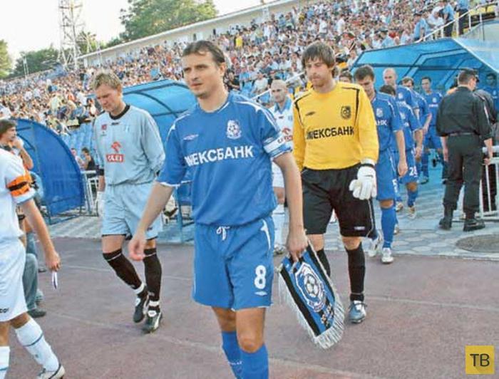 Футболисты после окончания футбольной карьеры (фото+текст)