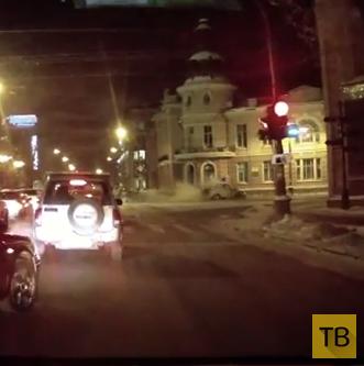 Жесть!!! Один человек погиб, двое госпитализированы... ДТП на пересечении улиц Ленина и Карла Маркса, г. Иркутск