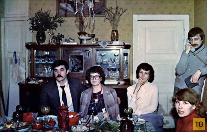 Как праздновали новый год в 80