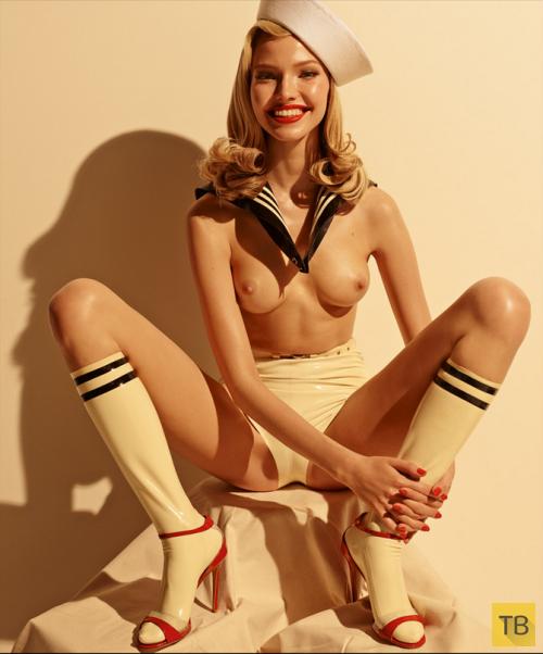 фото красивых девушек из эротических изданий
