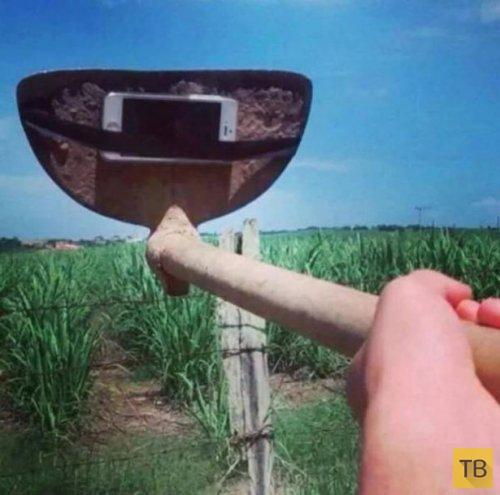Как своими руками сделать селфи палку