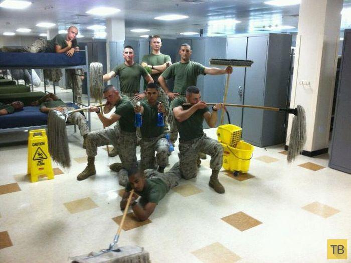 Армейские приколы солдат разных стран мира (40 фото)