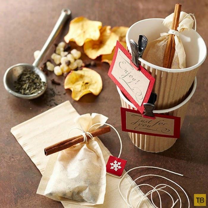 Подарки своими руками чай