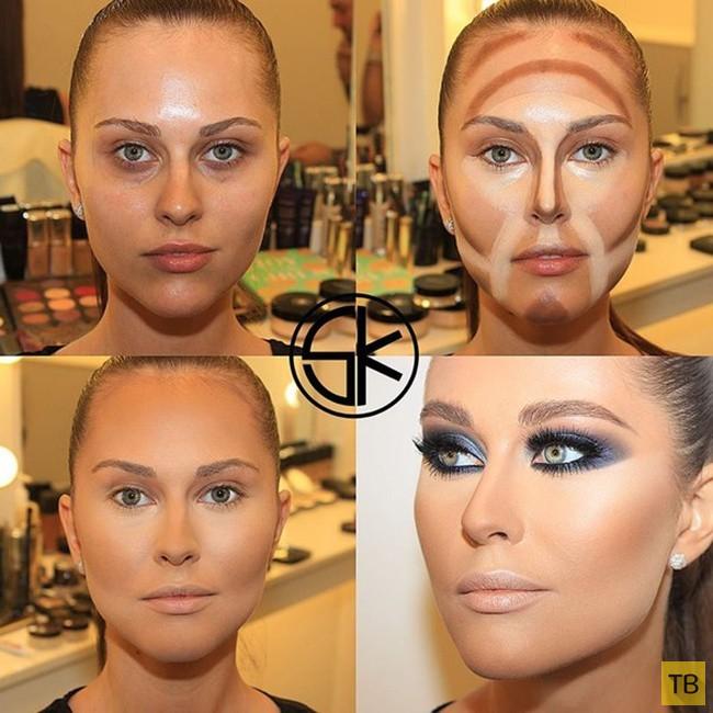 Чудеса макияжа от визажиста Самира Хузами (10 фото)