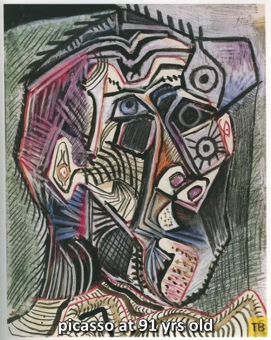Пабло Пикассо - от Рафаэля к кубизму (8 фото)