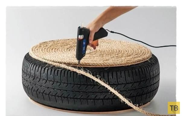Что можно сделать из шин