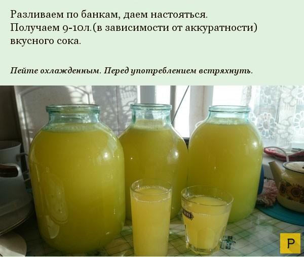 Сок своими руками с апельсина