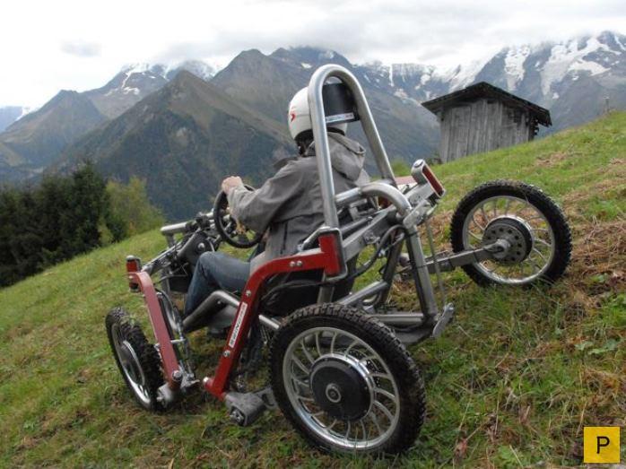 Французский элекромобиль-внедорожник Swincar (5 фото)
