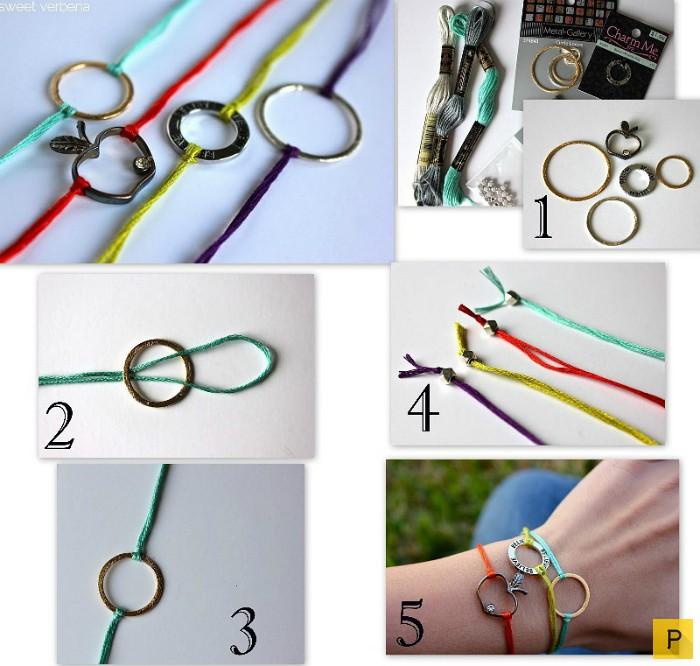 Как делать красивые браслеты своими руками