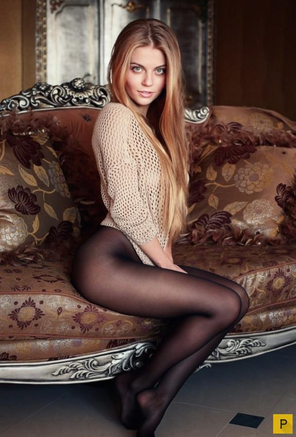 Подборка фото девушек в колготках