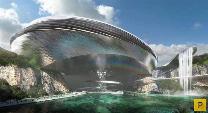 Топ 5: Отели из будущего, которые строятся прямо сейчас (6 фото)