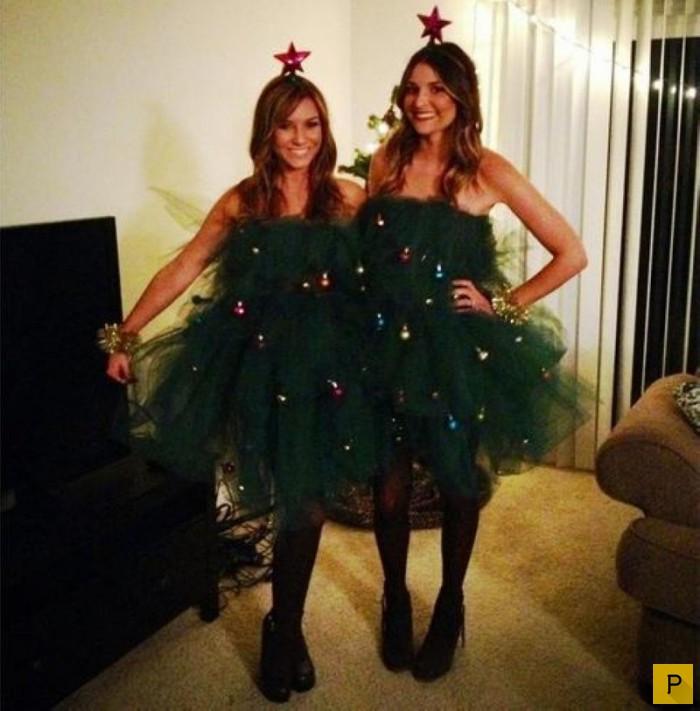Фото новогодних платьев своими руками