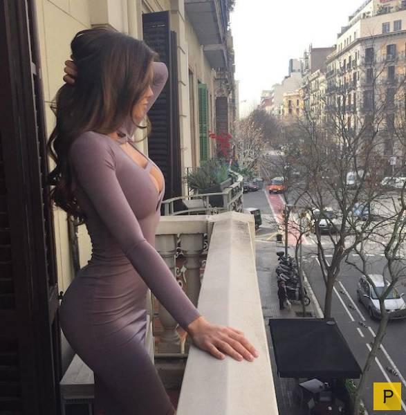 Фото красивые фигуры девушек в платьях