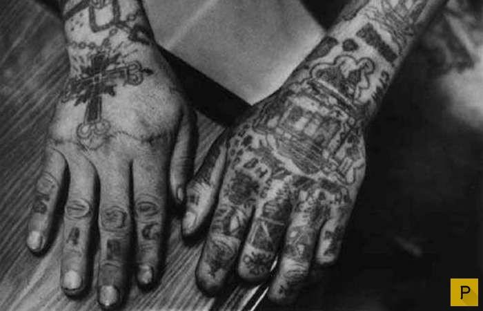 Тату тюремное на руках