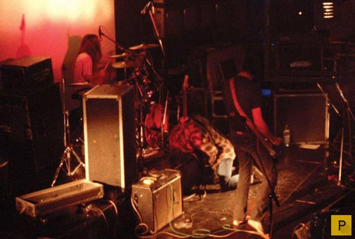 Неизвестные фотографии группы  Nirvana (11 фото)