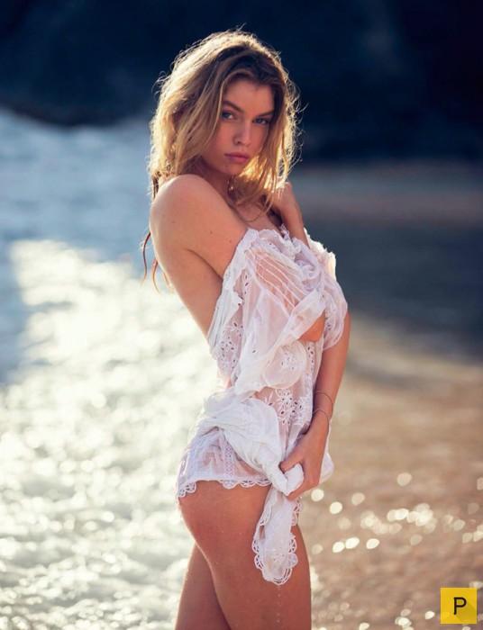 Ангелы Victoria's Secret в майском номере Vogue Spain (17 фото)