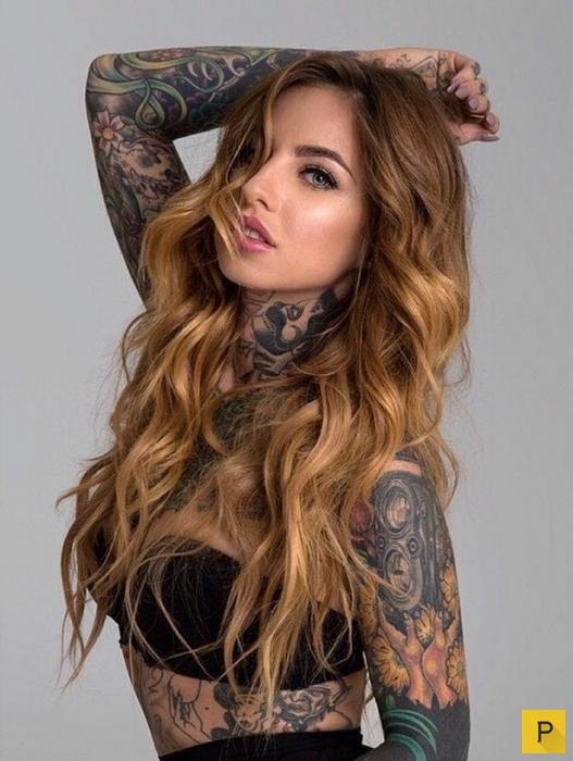 Девушки с татуировками (30 фото)
