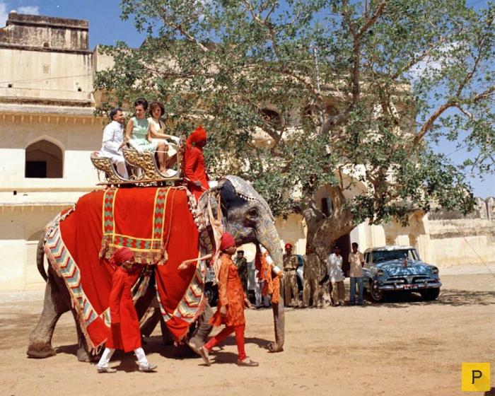 Поездка первой леди США Жаклин Кеннеди в Индию в 1962 году (12 фото)