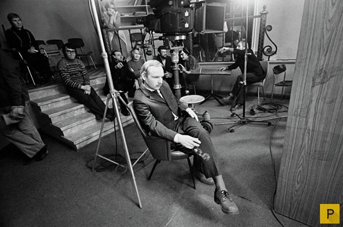 Малоизвестные фотографии советских режиссеров, актеров и композиторов (21 фото)