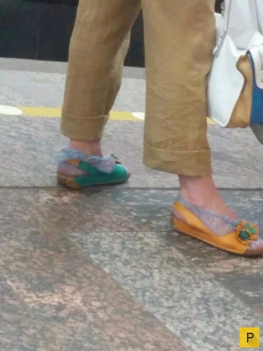 Модные граждане из российского метро, часть 10 (22 фото)