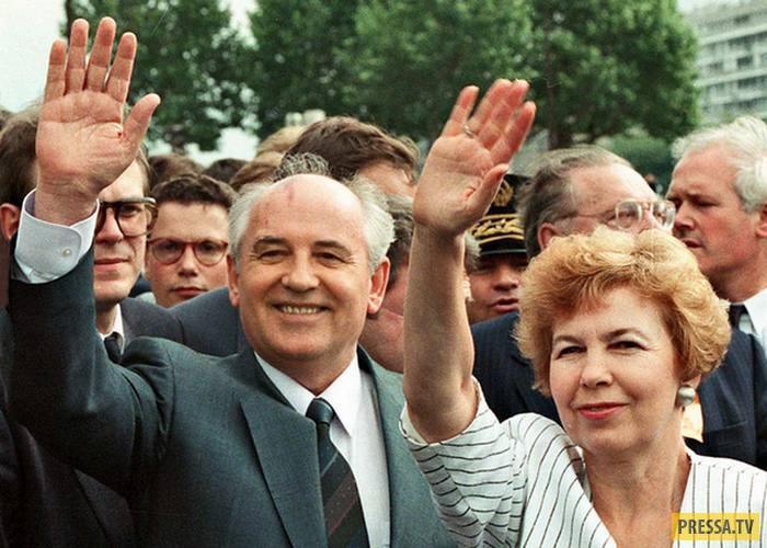 Раиса и Михаил Горбачевы - всегда вместе (10 фото)