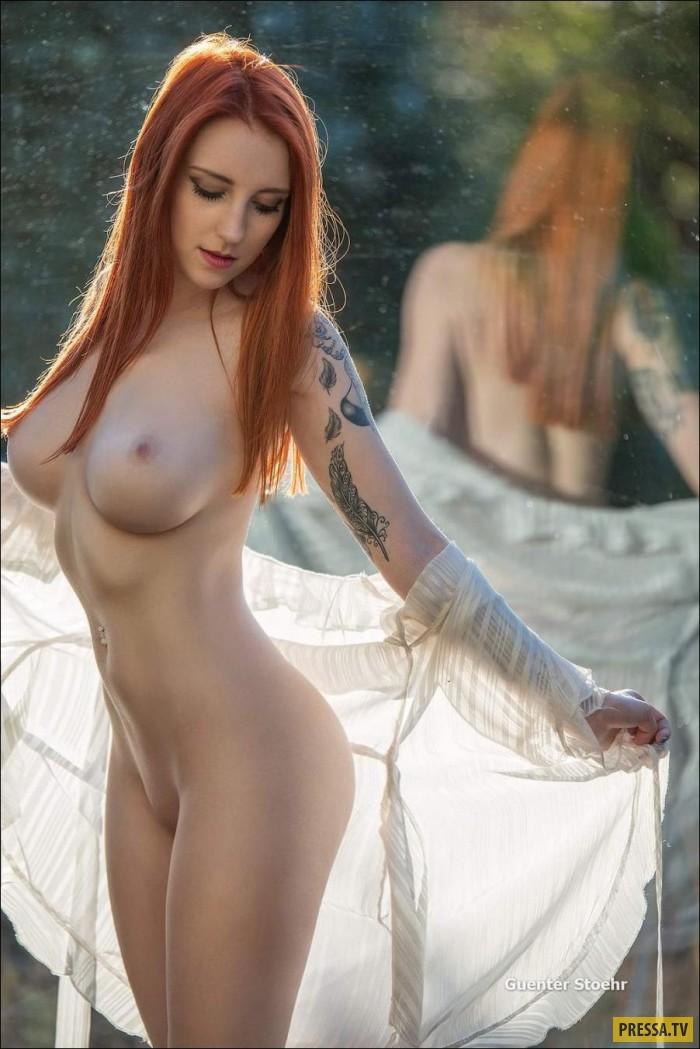 Фото голой рыжей смотреть
