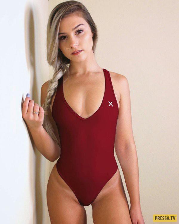 """Красивые и спортивные девушки позируют для """"Селфи"""" (33 фото)"""