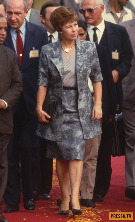 Первые леди России за последние 50 лет (23 фото)