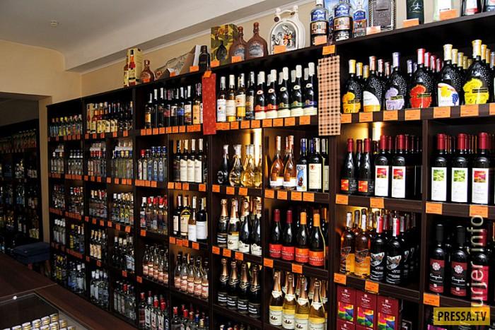 Россияне смогут покупать алкоголь, предъявив водительские права