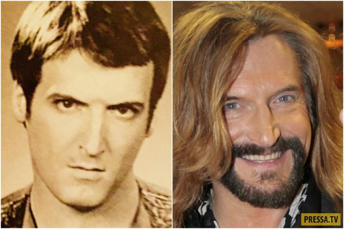 Сравнительные фотографии знаменитостей в юности и сейчас ...