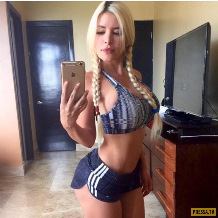 Спортивные и красивые девушки в бикини  (39 фото)