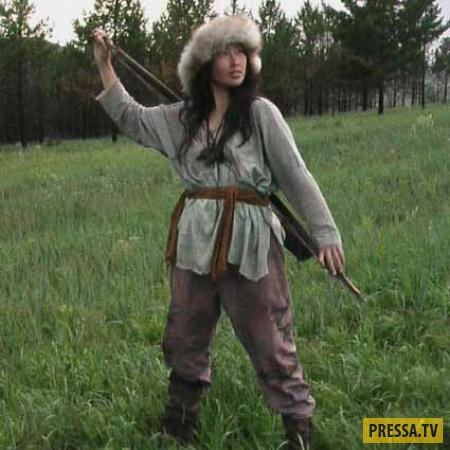 Просто помыть монгольскую бабу