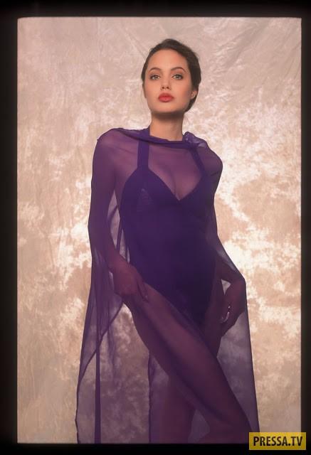 Неизвестные кадры юной Анджелины Джоли из фотосессии 1991 года (32 фото)