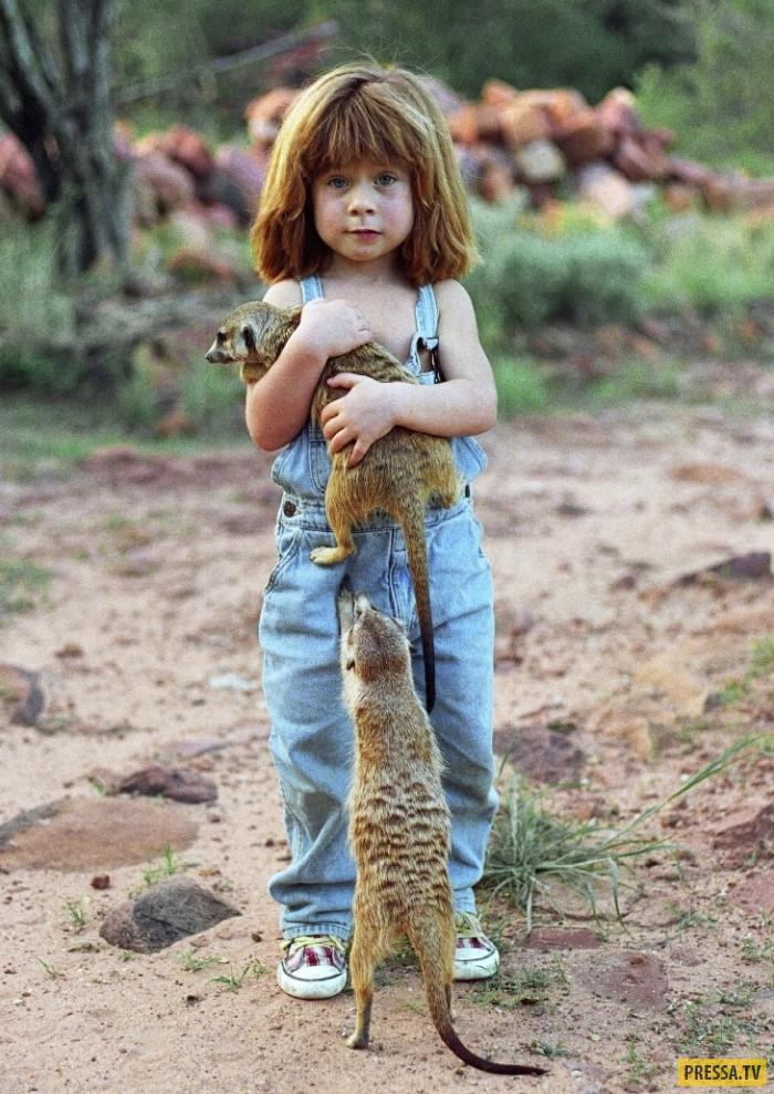 Современный Маугли женского рода Типпи (10 фото)