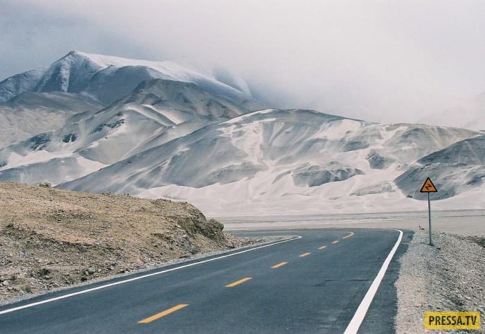 ТОП-10 смертельно опасных дорог (20 фото)