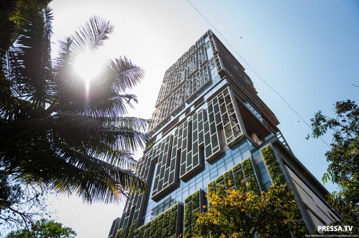 Самый дорогой в мире частный небоскреб находится в Бомбее (10 фото)
