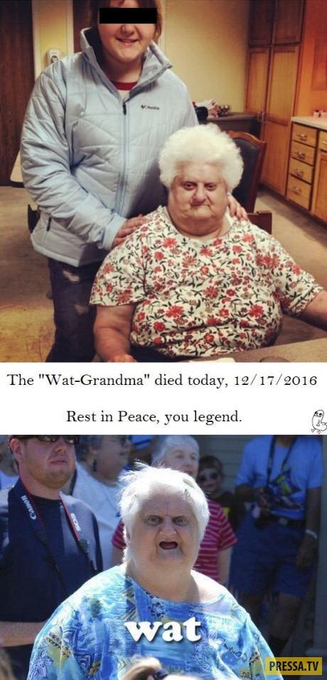 Легендарная бабуля герой мемов - умерла 17 декабря 2016 года