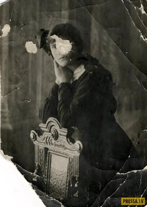 Непростая жизнь Матрены - дочери Григория Распутина в эмиграции (10 фото)