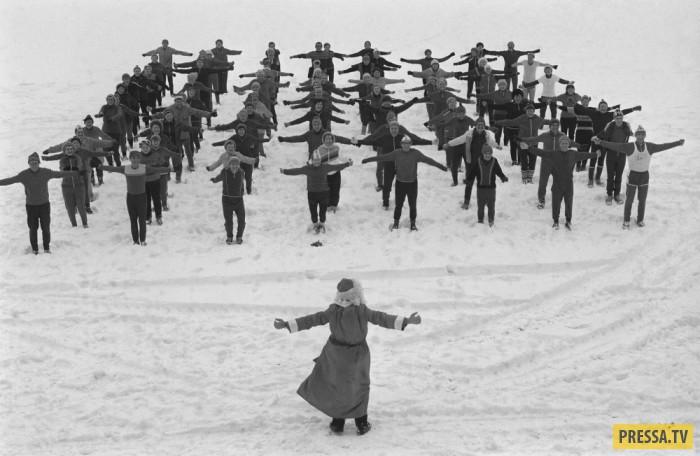 Ностальгия: советские Деды Морозы в 80-е годы (27 фото)
