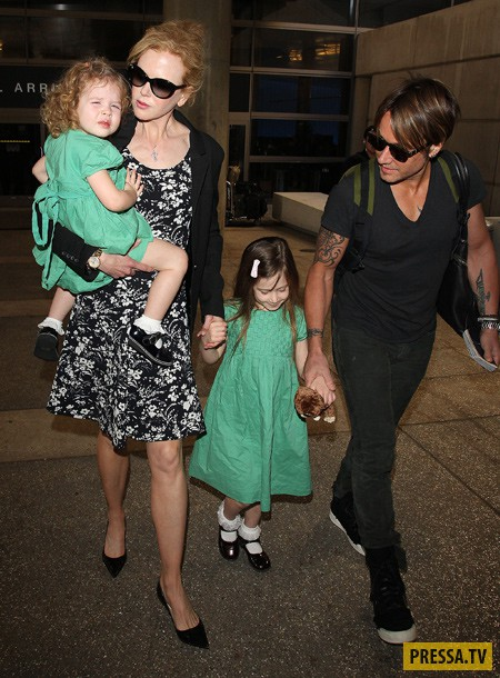 Николь Кидман в пятый раз станет матерью (фото)