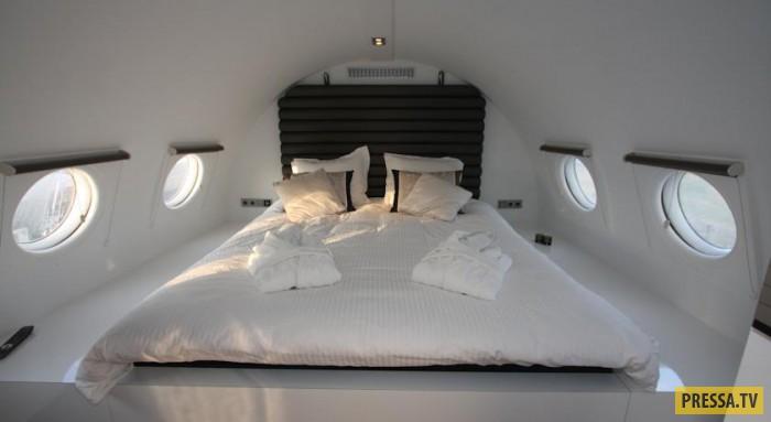 Очень интересный отель-самолет Vliegtuigsuite (14 фото)