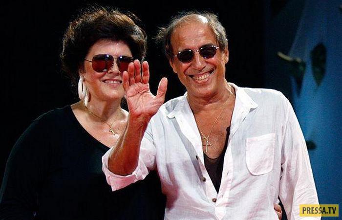 Адриано Челентано 50 лет в счастливом браке с Клаудией Мори (11 фото + видео)