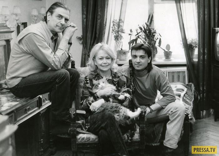 Светлана Немоляева и Александр Лазарев - самая верная театральная пара (12 фото)