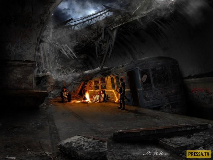 Как выглядит постапокалипсис (13 фото)