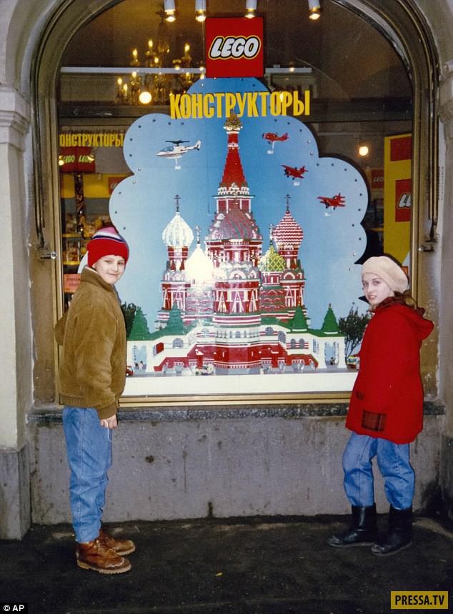 Жизнь постсоветской России 90-х в фотографиях (16 фото)