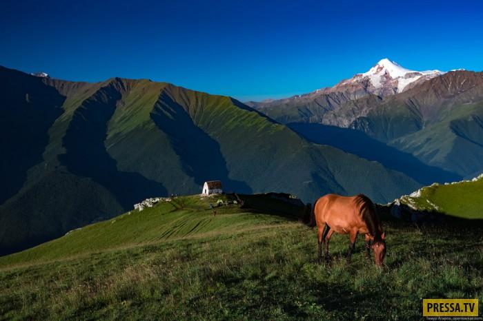 Гора Столовая на Северном Кавказе (35 фото)