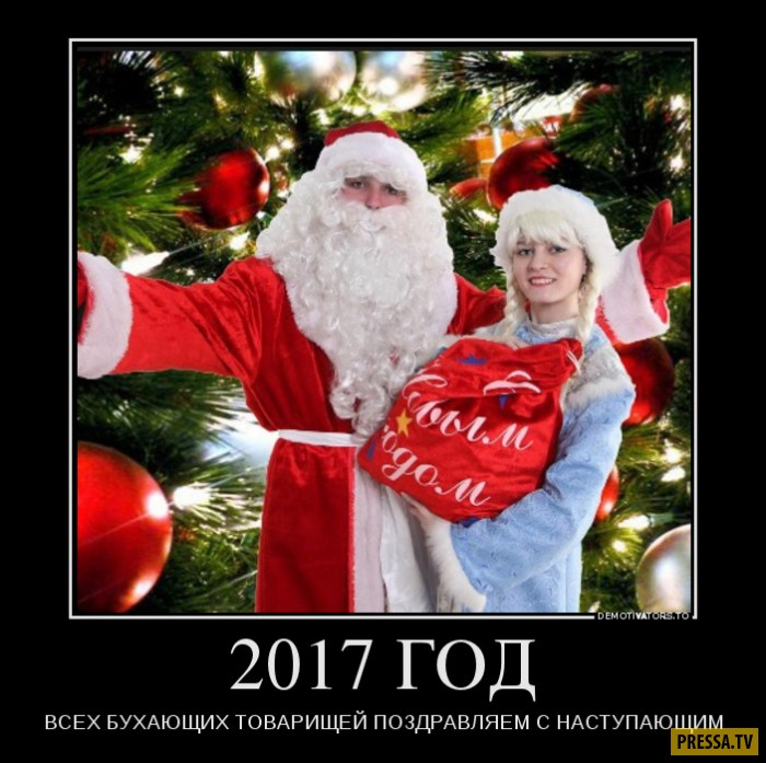 Демотиваторы от 28.12.2016 (45 фото)