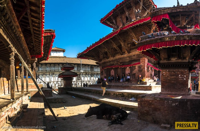 Главные достопримечательности Катманду, столицы Непала (34 фото)