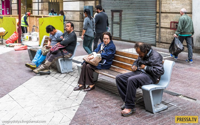 Сантьяго - столица Чили, очень похож на европейский город (36 фото)