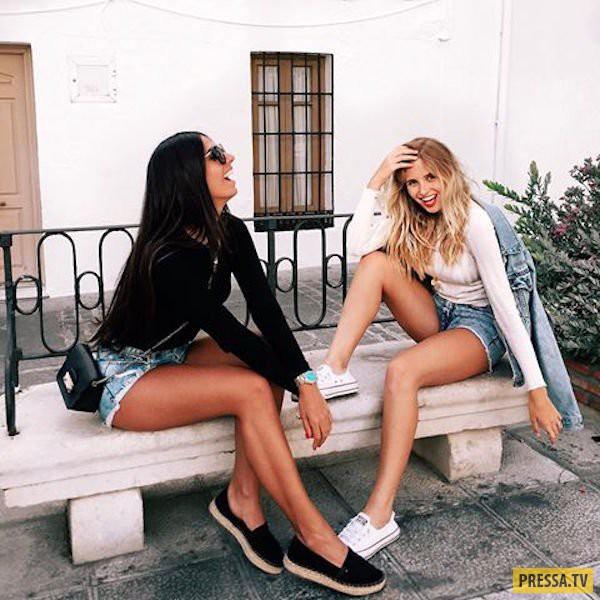 Красотки с прекрасными ножками (53 фото)